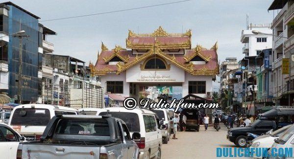 Cửa khẩu Mae Sai phía Bắc Thái Lan- du lịch Bắc Thái Lan: điểm đến & trải nghiệm