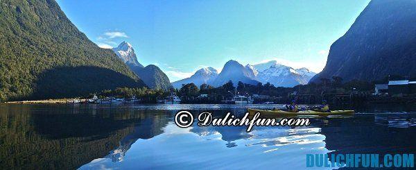 Milford sound, địa điểm du lịch nổi tiếng của New Zealand