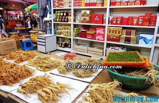 Mua nhân sâm và linh chi ở đâu tốt nhất khi du lịch Hàn Quốc? Địa điểm mua nhân sâm và linh chi chất lượng, nổi tiếng ở Hàn Quốc