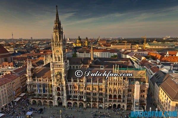 Munich đẹp, địa điểm du lịch Đức nên ghé thăm. Khám phá địa điểm du lịch đẹp ở Đức