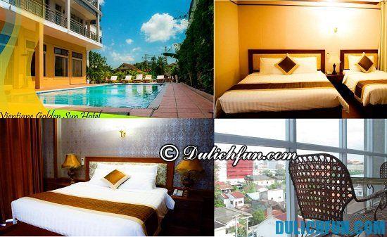 Nên ở khách sạn nào khi đi du lịch Viêng Chăn (Vientiane): Tư vấn các khách sạn bình dân ở Viêng Chăn tiện nghi, hiện đại