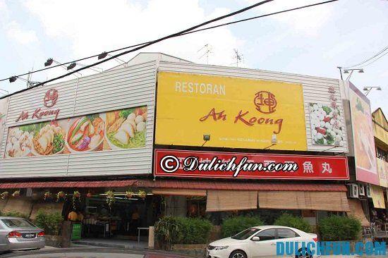 Nhà hàng, quán ăn ở Kuala Lumpur. Địa chỉ ăn uống ở Kuala Lumpur ngon rẻ nên ghé