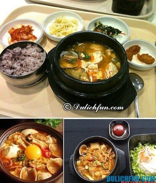 Địa chỉ ăn uống ngon nhất ở Hàn Quốc