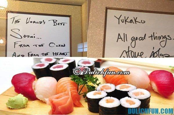 Địa chỉ ăn uống uy tín, giá rẻ ở Kyoto. Đặc sản ở Kyoto
