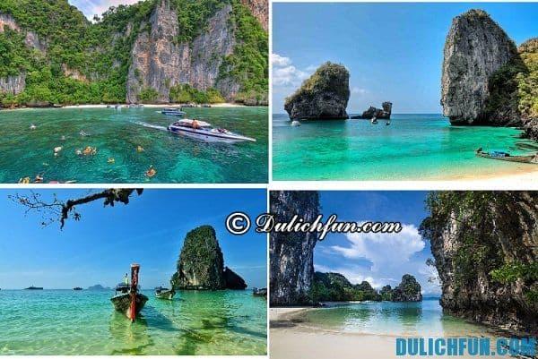Những địa điểm du lịch đẹp nổi tiếng ở Koh Phi Phi. Kinh nghiệm du lịch đảo Koh Phi Phi tự túc, tiết kiệm