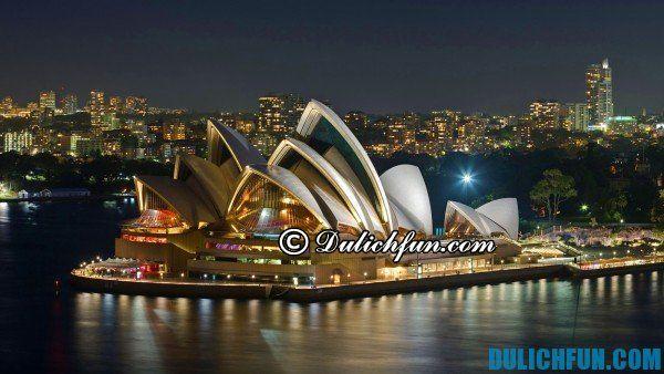 Những địa điểm du lịch nổi tiếng ở Sydney, địa điểm du lịch đẹp ở Sydney