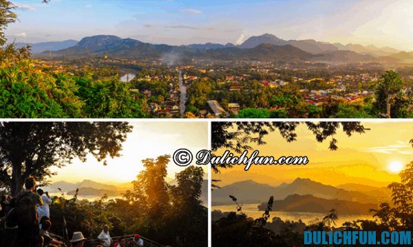 Điểm tham quan du lịch đẹp, hấp dẫn, nổi tiếng không nên bỏ lỡ ở Luang Prabang