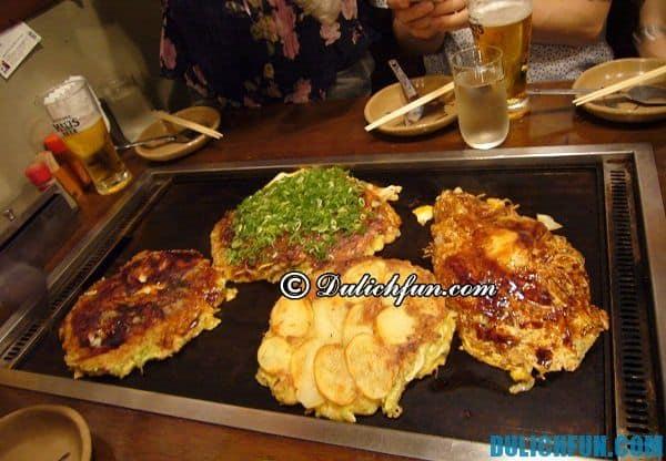 Quán ăn bán đồ truyền thống ngon ở Kyoto. Đặc sản Kyoto. Địa chỉ ăn uống ngon bổ rẻ ở Kyoto