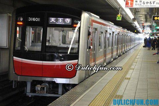 Hướng dẫn du lịch Fukuoka giá rẻ, đầy đủ: Tàu điện ngầm, phương tiện di chuyển ở Fukuoka