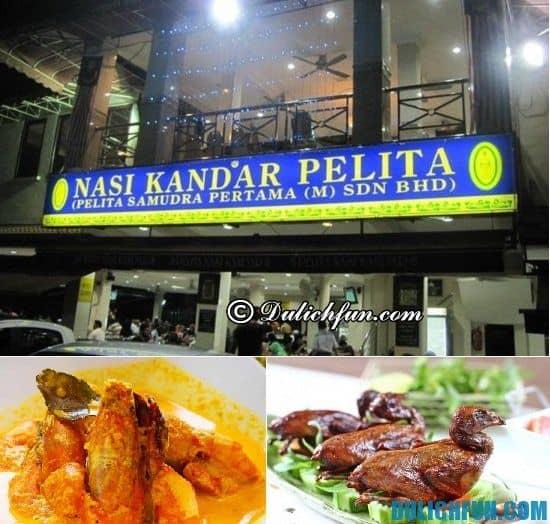 Quán ăn bình dân ở Kuala Lumpur. Địa chỉ ăn uống ở Kuala Lumpur nên ghé