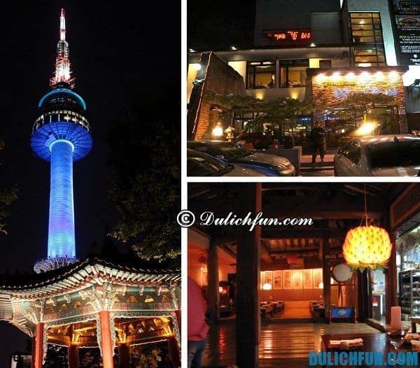 Địa chỉ quán ăn ngon ở Hàn Quốc