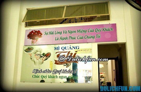 Quán ăn sáng đặc sản ở Đà Nẵng: Địa chỉ ăn sáng ngon ở Đà Nẵng