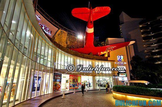 Royal Garden Plaza Pattaya, địa điểm mua sắm hàng hiệu, giá rẻ ở Pattaya bạn nhất định phải tới