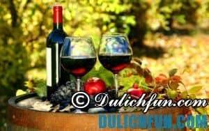 Rượu vang Úc, thức uống độc đáo nổi tiếng ở Úc. Ẩm thực Úc đa dạng