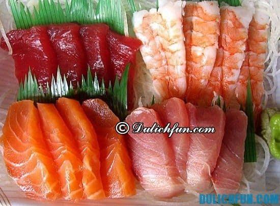 Khám phá các món ăn ngon, hấp dẫn ở Nhật Bản. Sashimi, món ăn thơm ngon ở Nhật Bản