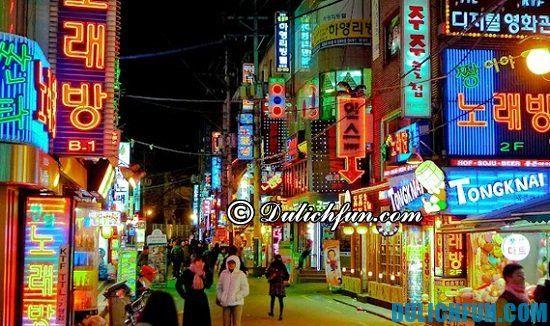 Seoul, địa điểm tham quan, du lịch nổi tiếng nhất ở Hàn Quốc