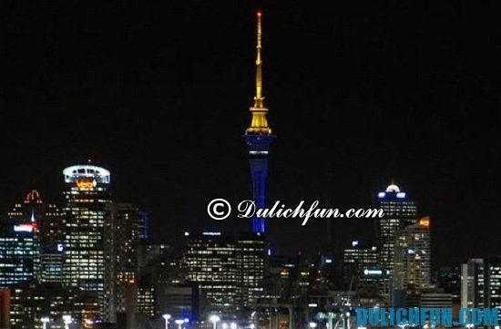 Sky Tower, địa điểm tham quan, du lịch nổi tiếng ở New Zealand bạn nhẩt định phải tới