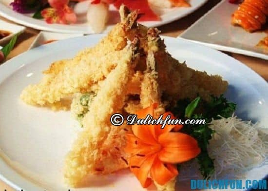 Ăn gì khi du lịch Nhật Bản? Tempura , món ăn ngon nổi tiếng ở Nhật Bản bạn không nên bỏ lỡ