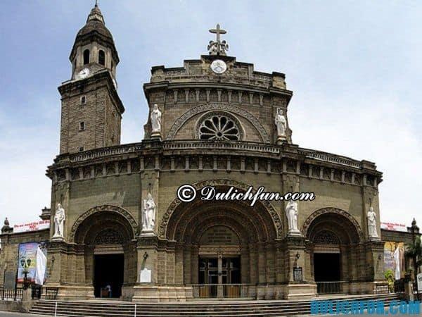 Thành cổ Intramuros Manila- địa danh du lịch nổi tiếng đẹp ở Manila