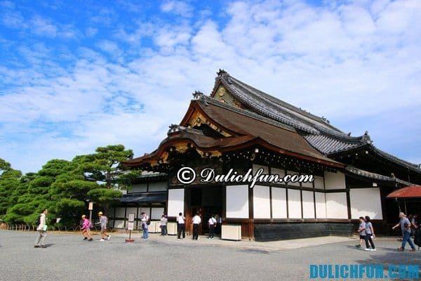 Điểm du lịch được ưa thích ở Kyoto. Du lịch Kyoto nên đi những đâu?
