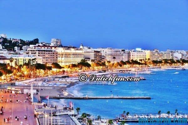Thành phố biển Cannes, thành phố du lịch đẹp nhất ở Pháp, khám phá những thành phố du lịch nổi tiếng ở Pháp - Địa điểm du lịch nổi tiếng ở Pháp