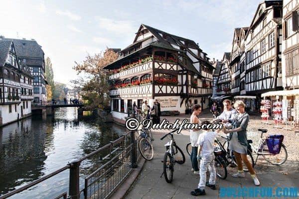 Thành phố Strasbourg cổ kính, xinh đẹp. Thành phố du lịch đẹp nhất nước Pháp, khám phá những thành phố du lịch đẹp nước Pháp - Địa điểm du lịch nổi tiếng ở Pháp