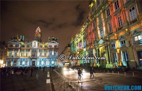 Thành phố Lyon, thành phố lớn thứ 3 của nước Pháp. Thành phố du lịch nổi tiếng nước Pháp - Du lịch Pháp nên đi đâu chơi, tham quan?