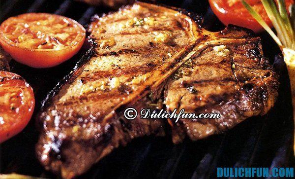 Thịt Kangaru đặc sản nước Úc, ẩm thực Úc hấp dẫn, ngon, bổ