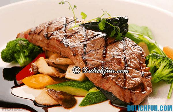 Thịt bò Úc, món ăn đặc sản nổi tiếng nước Úc. Thưởng thức ẩm thực Úc