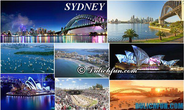 Thời điểm du lịch Sydney thuận tiện. Kinh nghiệm du lịch Sydney đầy đủ nhất