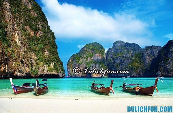Thời điểm du lịch đảo Koh Phi Phi Thái Lan. Kinh nghiệm du lịch đảo Koh Phi Phi Thái Lan vui vẻ, tiết kiệm