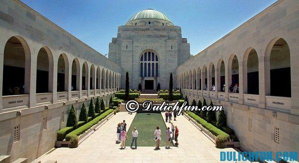 Thủ đô Canberra, du lịch Úc nên chơi ở đâu đẹp hấp dẫn. Địa điểm du lịch nổi tiếng hấp dẫn ở Úc