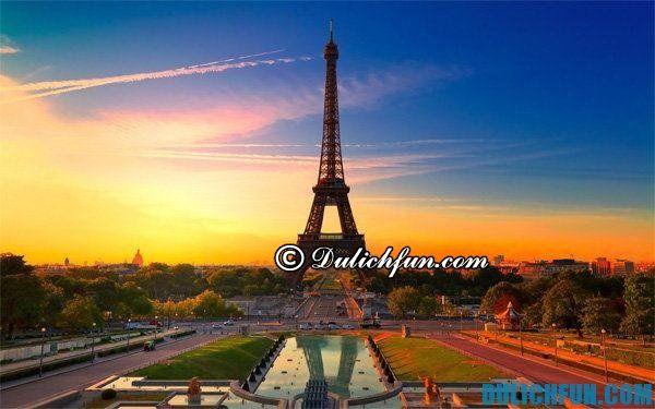 Thủ đô Paris nước Pháp, thành phố du lịch đẹp nhất nước Pháp - Địa điểm du lịch nổi tiếng ở Pháp