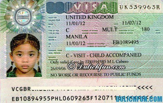 Xin Visa du lịch nước Anh cần chuẩn bị những gì? Hướng dẫn cách làm Visa đi du lịch Anh
