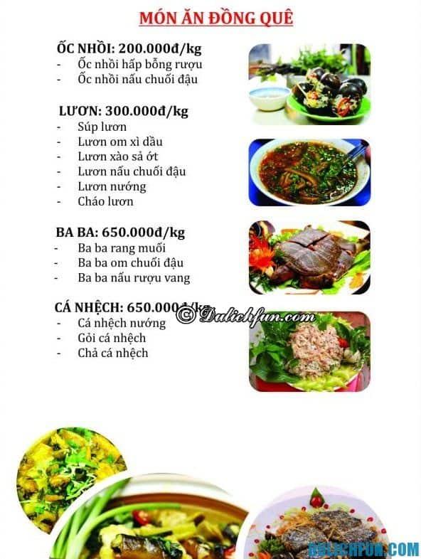 Địa chỉ ăn uống ngon rẻ ở Hạ Long. Du lịch Hạ Long nên đi đâu ăn?