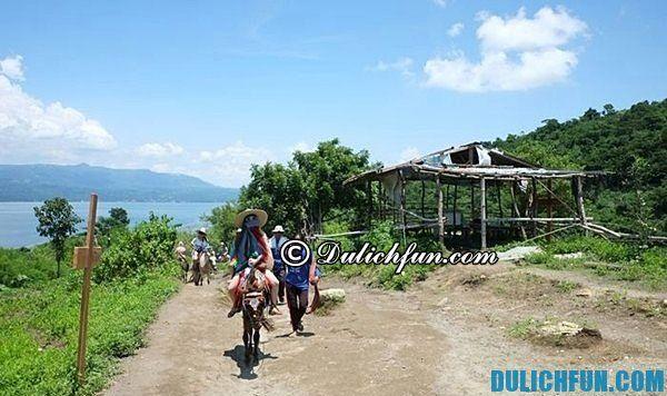 Hướng dẫn du lịch núi lửa Taal ở Tagaytay trong 1 ngày