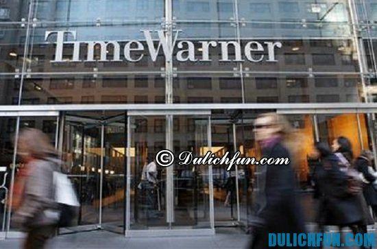 Time Warner, địa điểm mua sắm giá rẻ, nổi tiếng ở New York