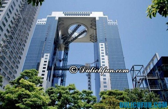 Tòa nhà Umeda Sky Osaka, điểm tham quan du lịch đẹp nhất ở Osaka. Những địa điểm tham quan nổi tiếng ở Osaka