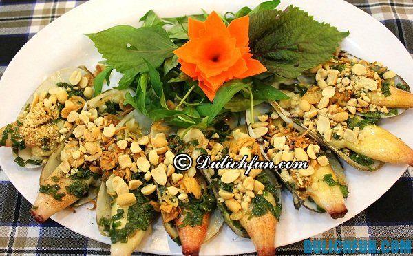 Món ăn ngon hấp dẫn ở Hạ Long. Đặc sản Hạ Long