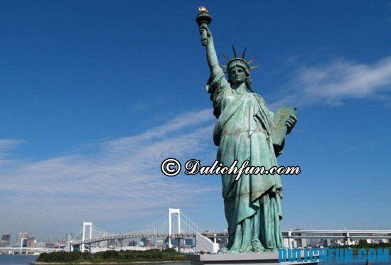 Điểm tham quan, du lịch đẹp, nổi tiếng ở New York? Tượng Nữ Thần Tự Do, điểm tham quan hấp dẫn khi du lịch New York