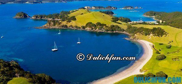 Bay of Island, điểm dừng chân lý tưởng ở New Zealand, du lich New Zealand thú vị