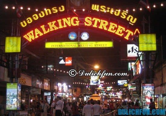 Walking Street, địa điểm mua sắm nổi tiếng ở Pattaya