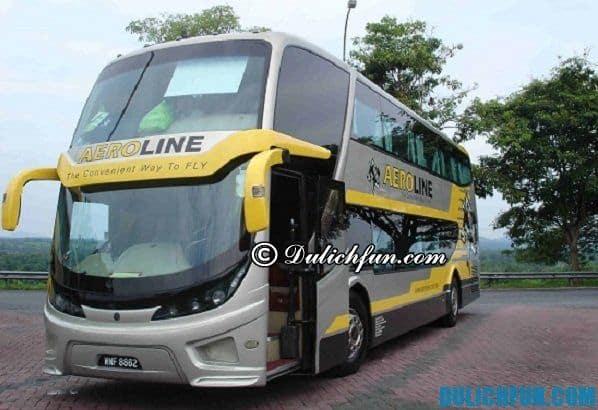 Du lịch, di chuyển từ Singapore qua Malaysia bằng xe Bus. Phương tiện di chuyển từ Singapore qua Malaysia giá rẻ