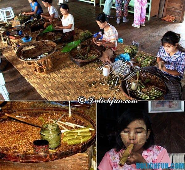 Du lịch Myanmar nên mua gì? Đặc sản Myanmar