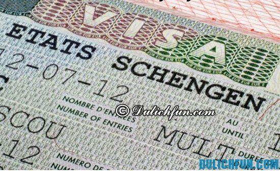 Hướng dẫn cách xin Visa Châu Âu đi du lịch Hà Lan: Kinh nghiệm du lịch Hà Lan giá rẻ, tự túc