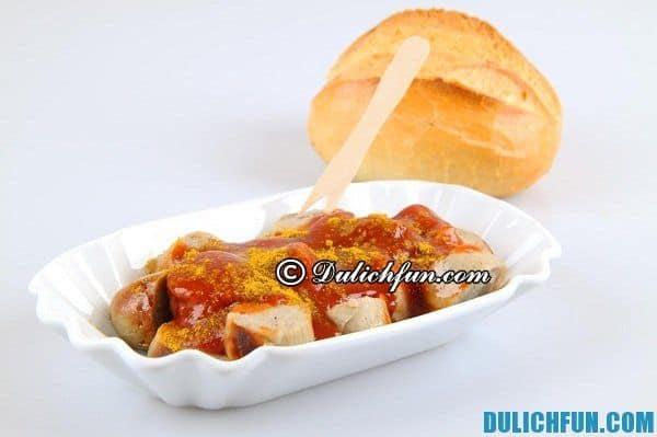 Du lịch Đức ăn gì ngon, món ngon nổi tiếng ở Đức. Những món ăn hấp dẫn truyền thông người Đức