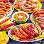 Xúc xích Đức, món ăn ngon ở Đức, những món ăn ngon, ẩm thực nổi tiếng ở Đức