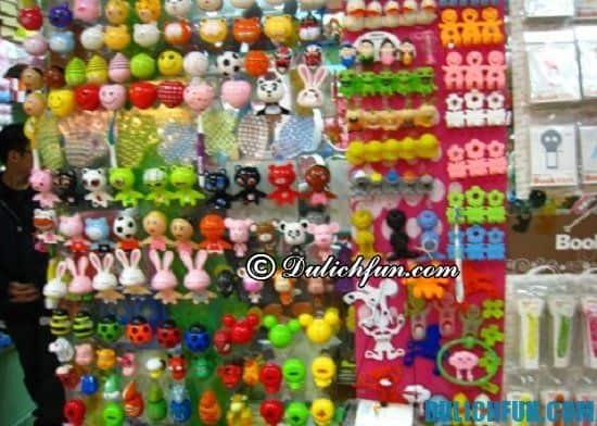 Chợ đồ lưu niệm, điểm mua sắm thú vị ở Quảng Châu được rất nhiều du khách đến ghé thăm