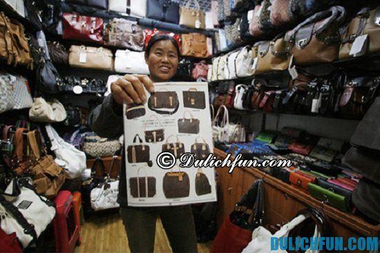 Chợ đồ da, địa điểm mua sắm ở Quảng Châu bạn không nên bỏ lỡ
