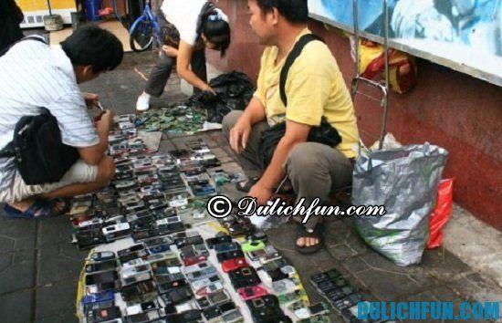 Chợ điện thoại Quảng Châu, địa điểm mua sắm thú vị, nổi tiếng ở Quảng Châu
